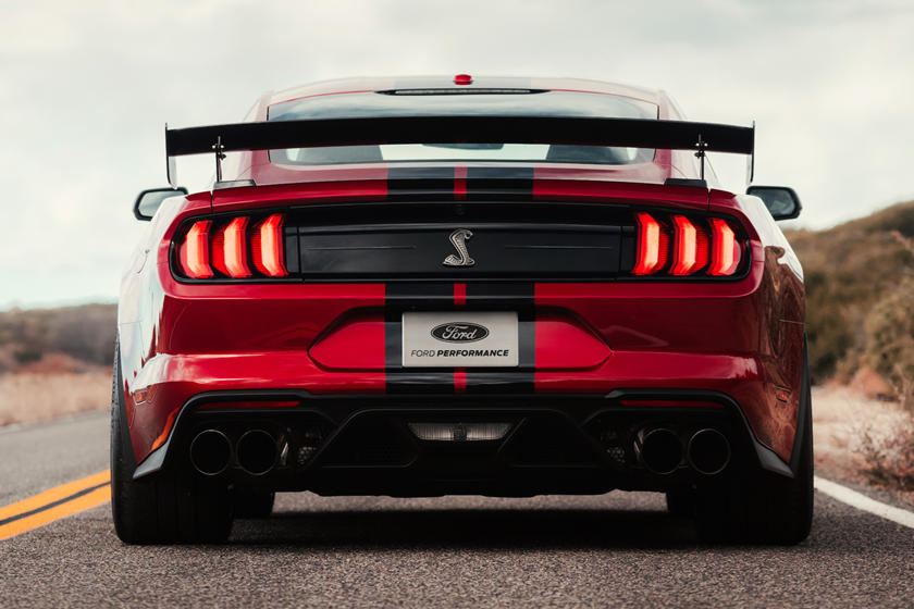 2020 Ford Mustang Shelby GT500 Coupe Rear View