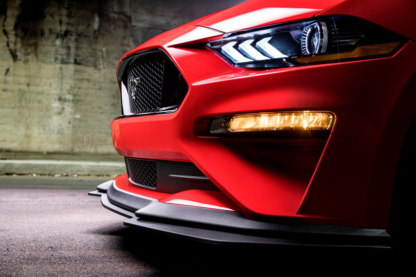2020 Ford Mustang Coupe Bonnet