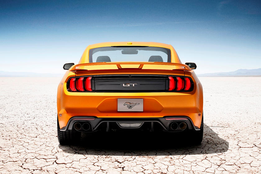 2020 Ford Mustang Coupe rear view