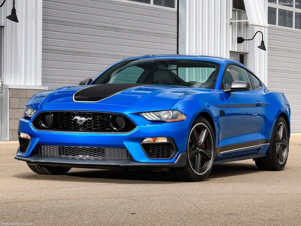 2021 Ford Mustang Coupe Front 3 Quarter View