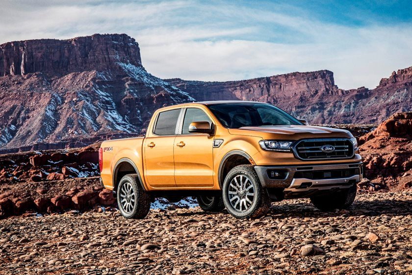 2020 Ford Ranger Crew Cab Front View