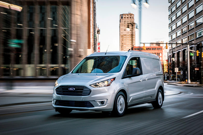 2021 Ford Transit Connect Cargo Van Front 3 Quarter View