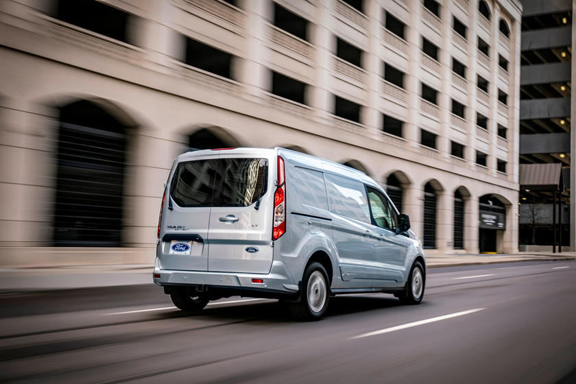 2021 Ford Transit Connect Cargo Van Rear 3 Quarter View