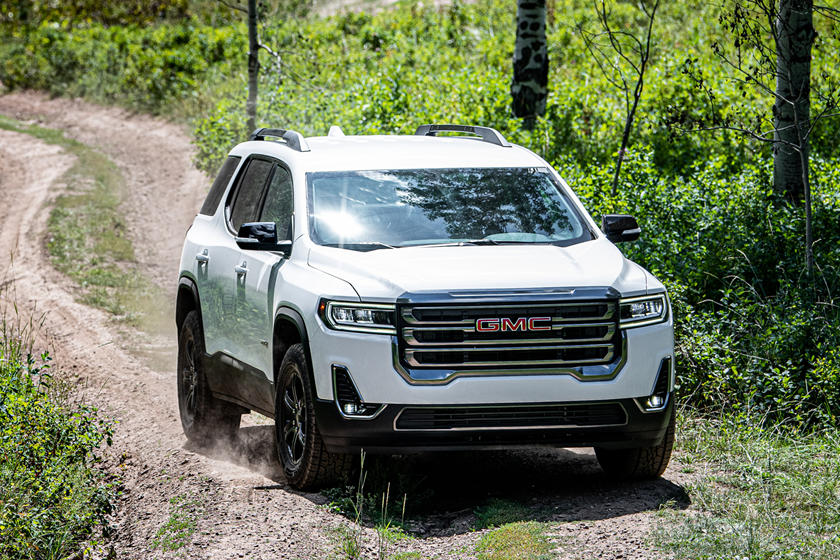 2021 GMC Acadia Front View