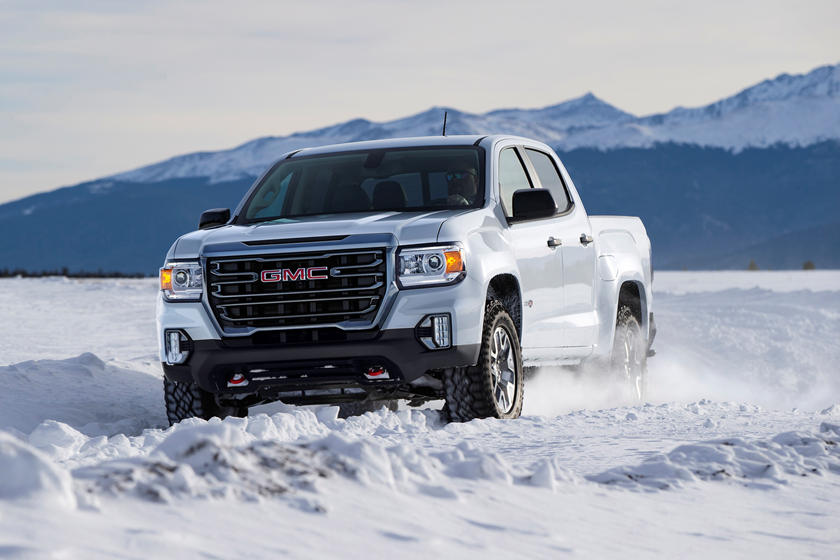 2021 GMC Canyon Crew Cab front view