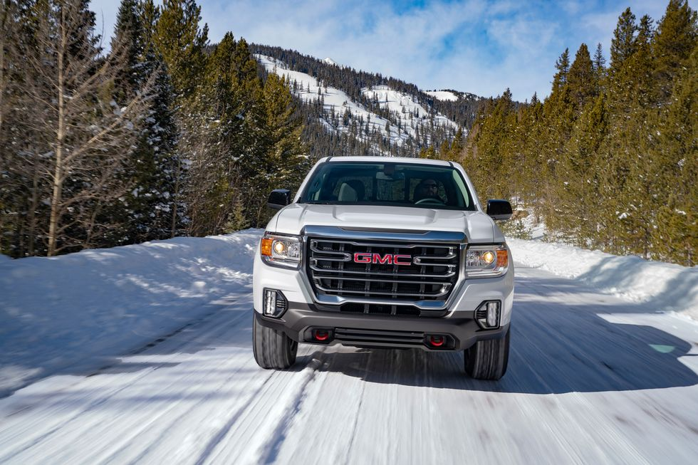 2021 GMC canyon diesel crew cab front view