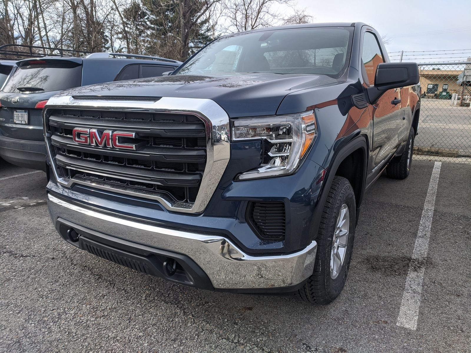 2021 GMC Sierra 1500 Regular Cab front angle view