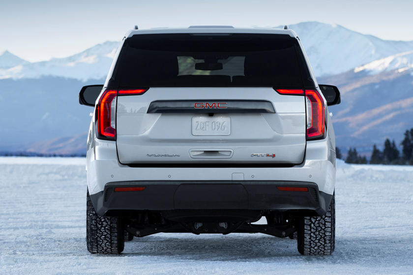 2021 GMC Yukon Rear View