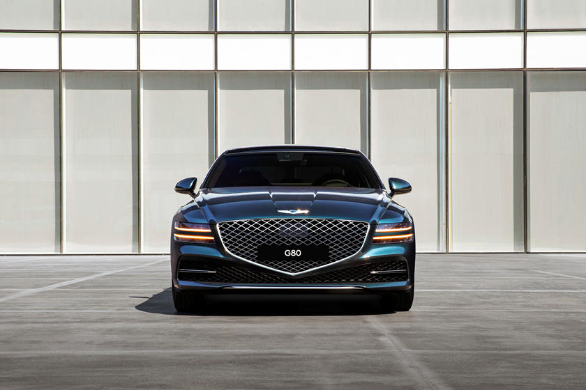 2021 Genesis G80 Front View