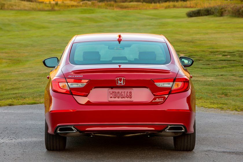 2020 Honda Accord Sedan Rear View