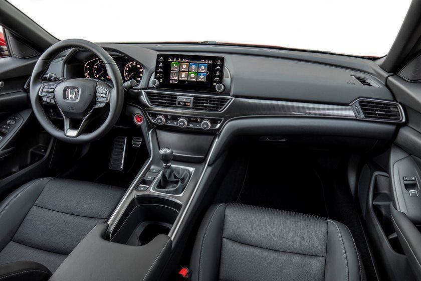 2020 Honda Accord Sedan dashboard