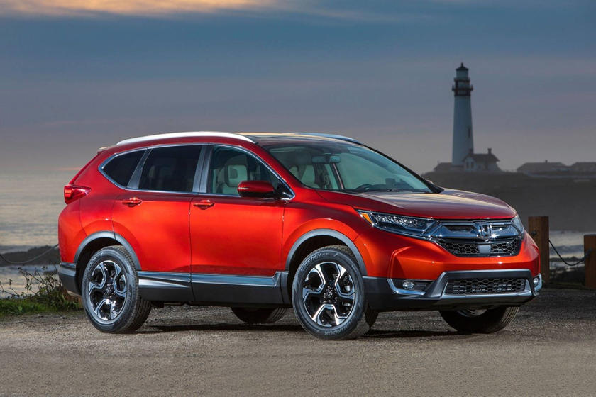 2020 Honda CR-V Crossover side view