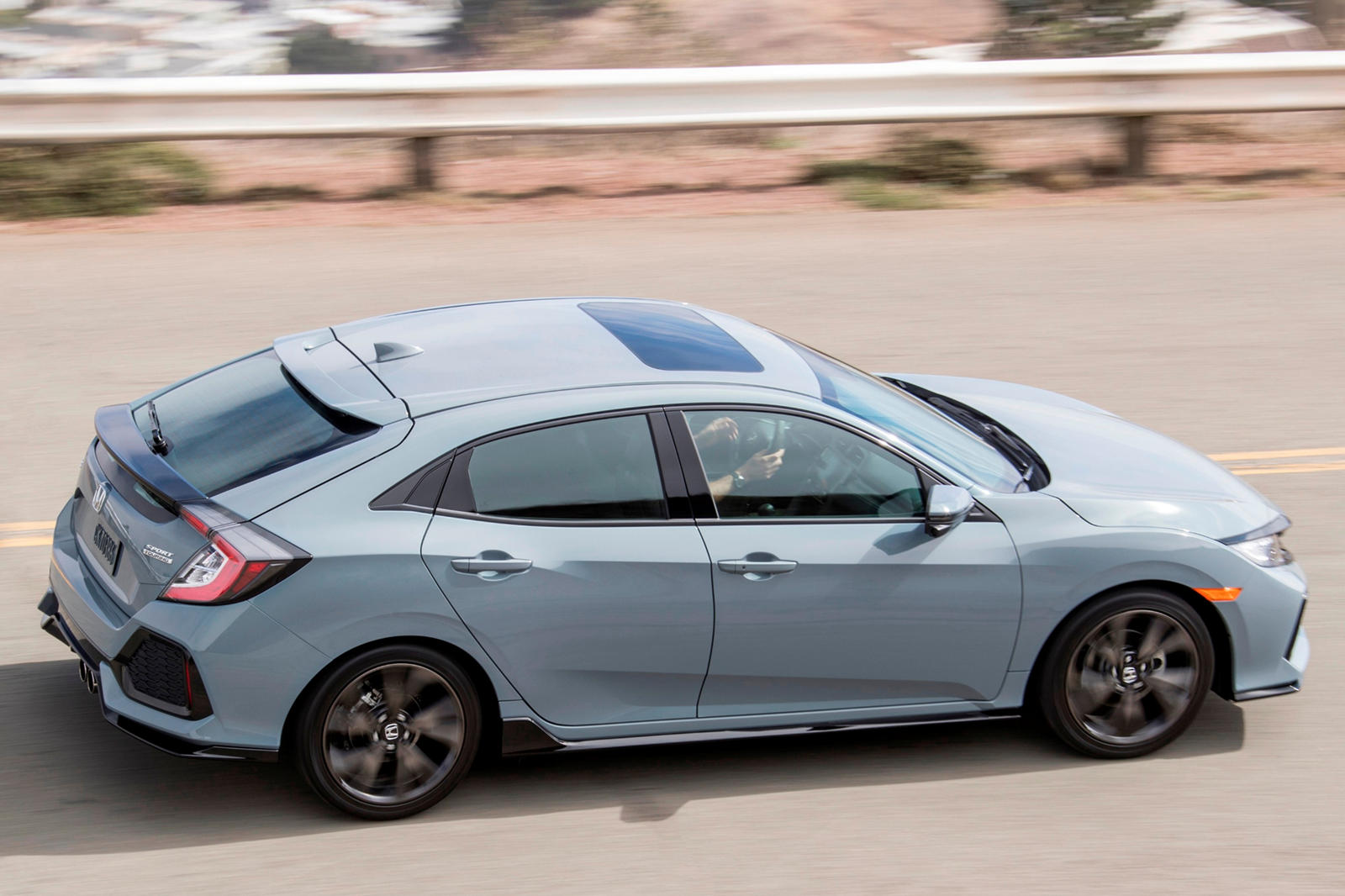 2020 Honda Civic Hatchback Exterior