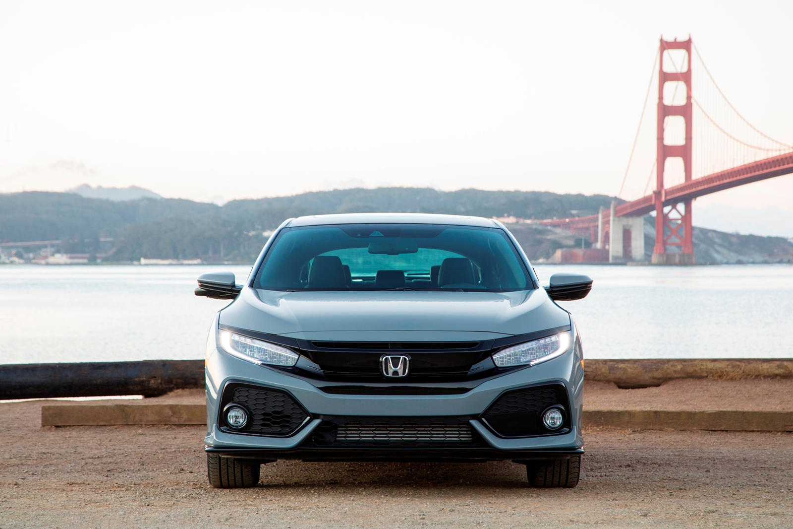 2020 Honda Civic Hatchback Front View