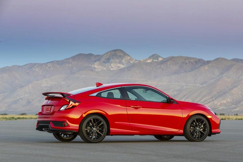 2020 Honda Civic Si Coupe Exterior