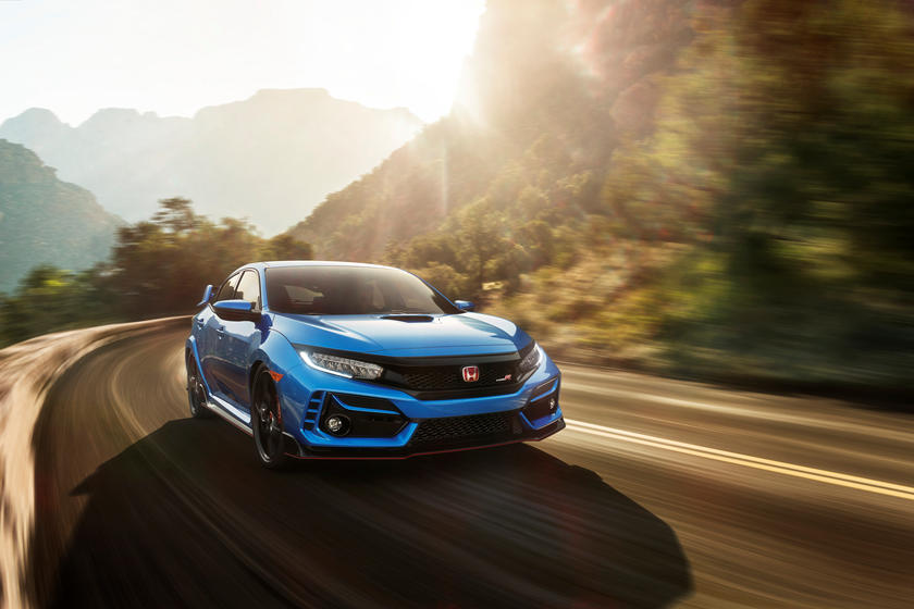 2020 Honda Civic Type-R Hatchback Front View