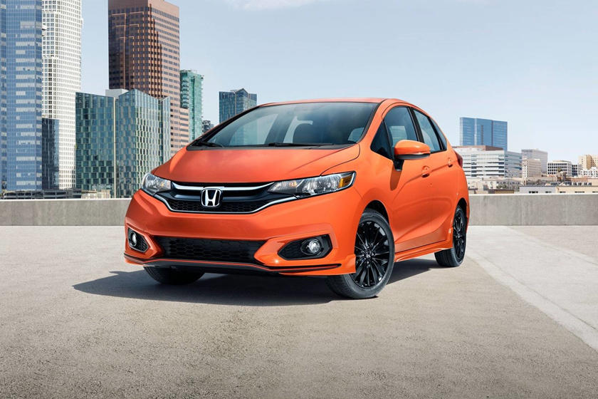 2020 Honda Fit Hatchback Three Quarter View