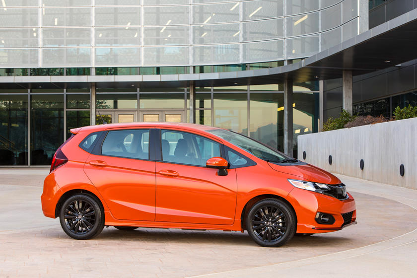 2020 Honda Fit Hatchback Side View