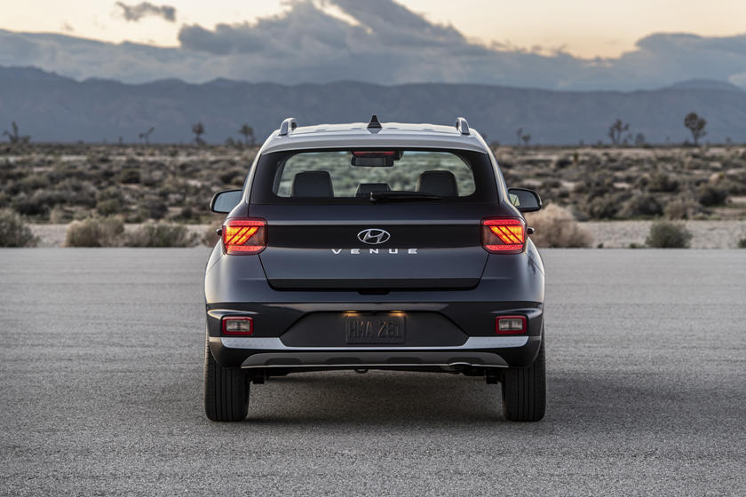 2020 Hyundai Venue SUV Rear View