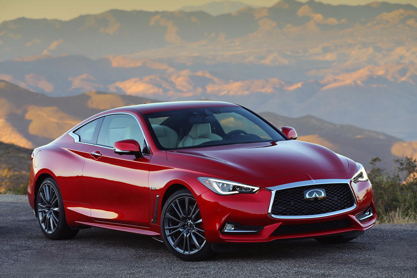 2020 Infiniti Q60 Coupe Front View