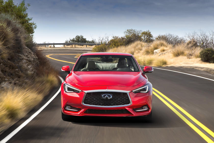 2021 Infiniti Q60 Coupe front view