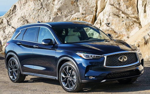 2021 Infiniti QX50 SUV Front View