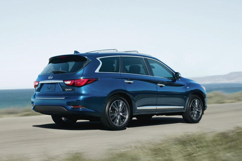 2020 Infiniti QX60 SUV 3rd quarter Rear View