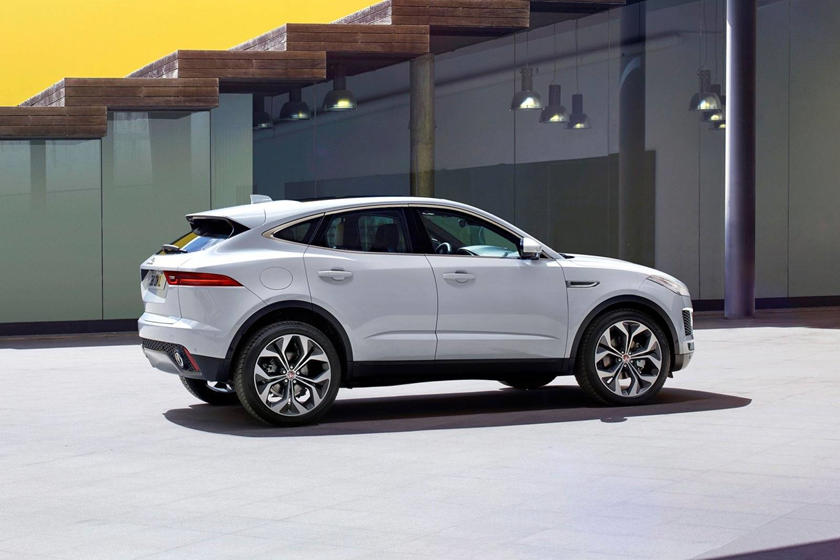 2020 Jaguar E-PACE SUV Side View