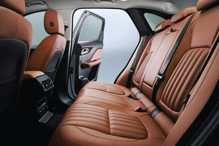 2020 Jaguar F-PACE SUV Rear Seats