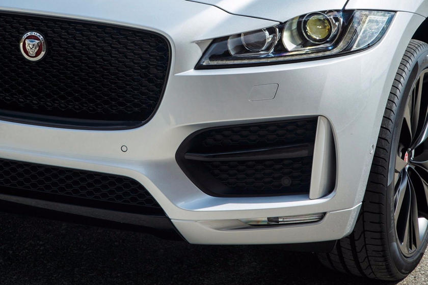 2020 Jaguar F-PACE SUV Headlights