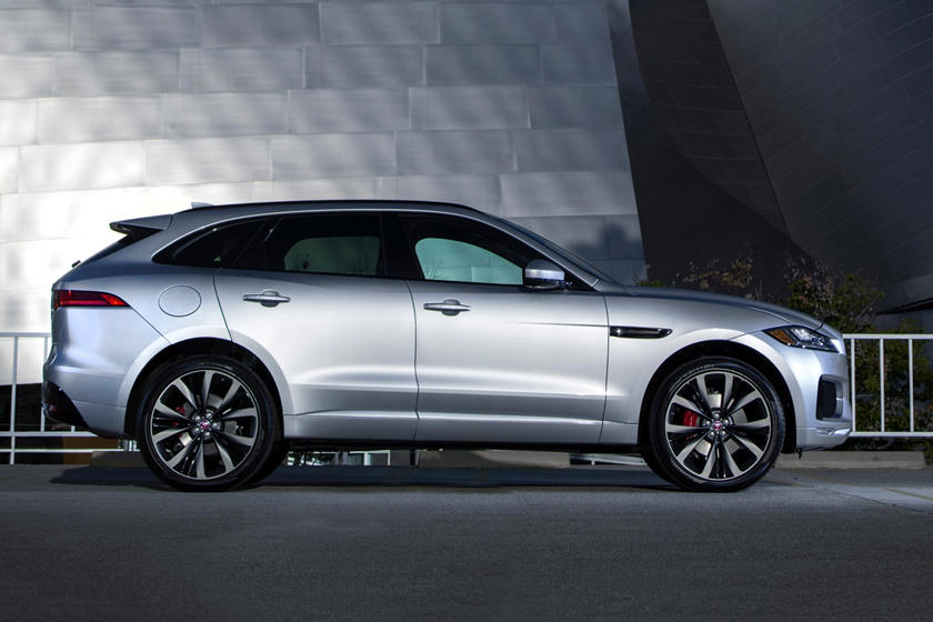 2020 Jaguar F-PACE SUV Side view