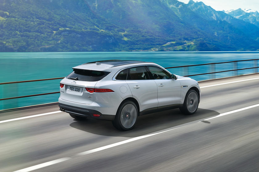 2020 Jaguar F-PACE SUV Top View
