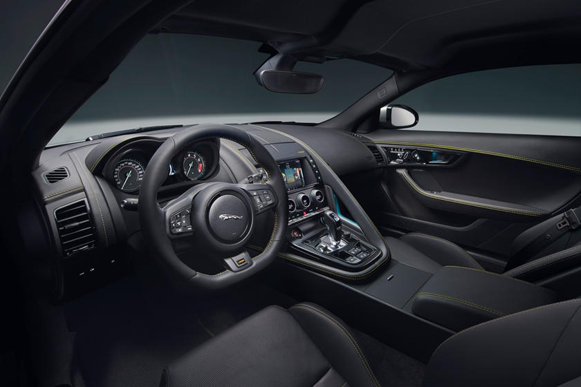 2020 Jaguar F-TYPE Coupe Dashboard