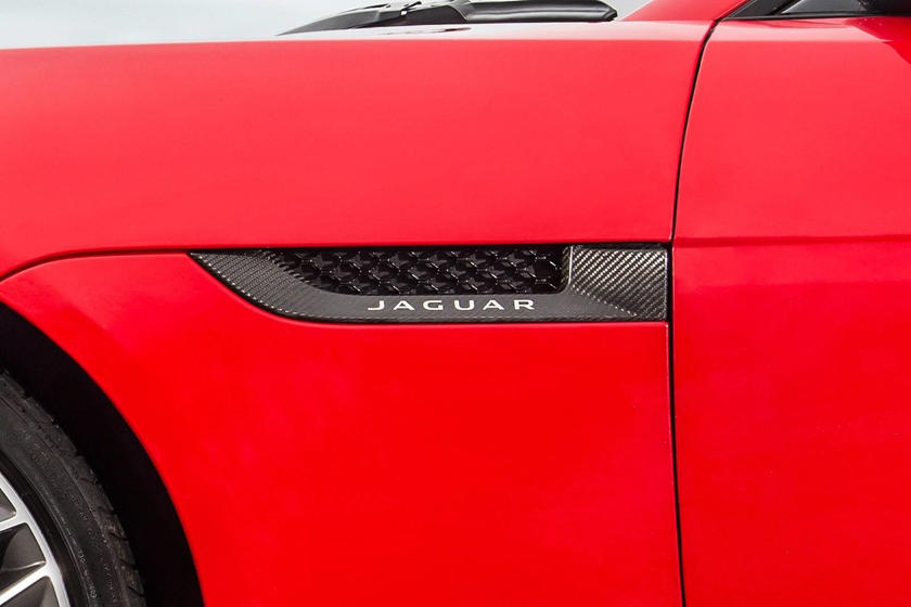 2020 Jaguar F-TYPE Coupe Badge