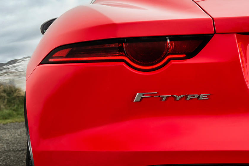 2020 Jaguar F-TYPE Coupe Rear View
