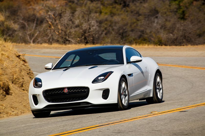 2020 Jaguar F-TYPE Coupe Front View