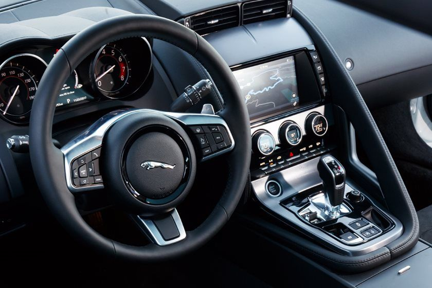 2020 Jaguar F-TYPE Coupe Interior