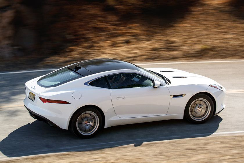 2020 Jaguar F-TYPE Coupe Side View