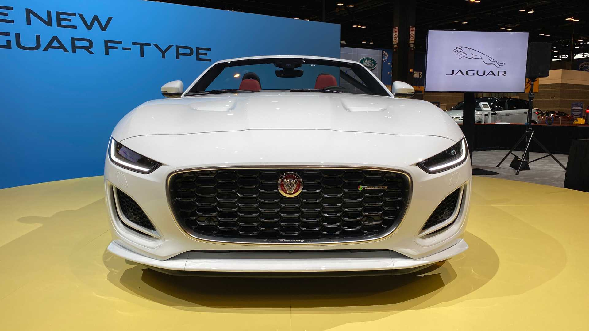 2021 Jaguar F-TYPE R-Dynamic Convertible Price, Review and ...