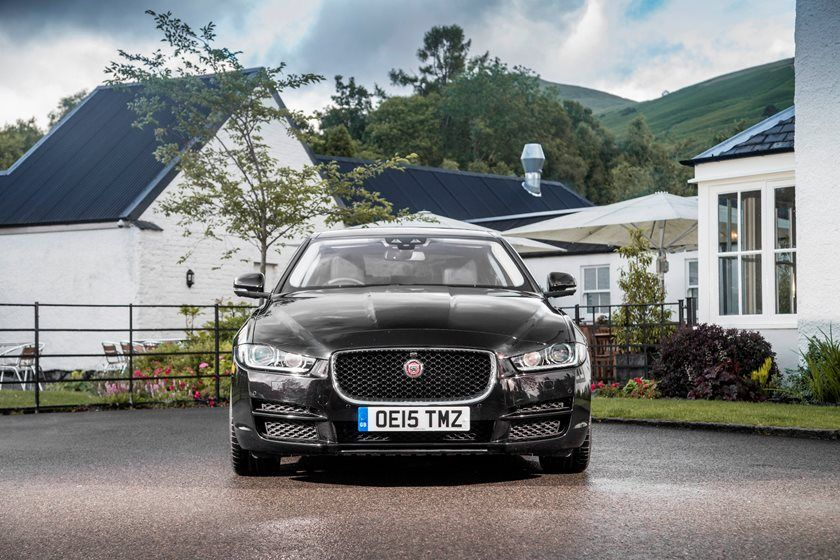 2021 Jaguar XE Sedan Front View