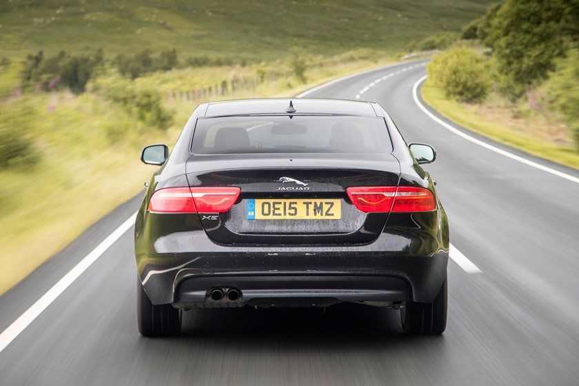 2021 Jaguar XE Sedan Rear View