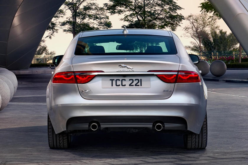 2021 Jaguar XF Sedan rear view