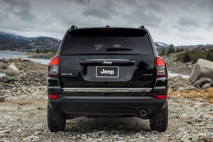 2016 Jeep Compass SUV Rear View