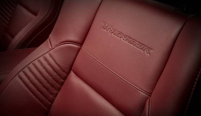 2020 Jeep Grand Cherokee Trackhawk Seat finish