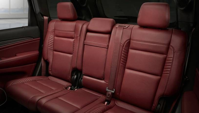 2020 Jeep Grand Cherokee Trackhawk Rear Seats