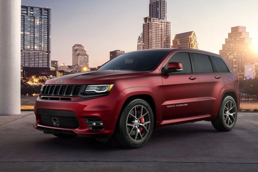 2020 Jeep Grand Cherokee SRT SUV 3rd quarter View
