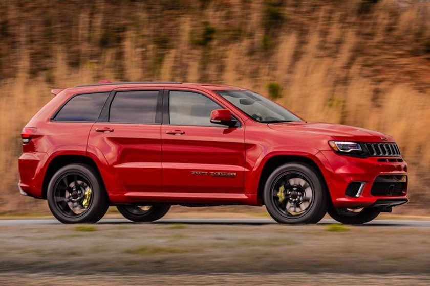 2020 Jeep Grand Cherokee SRT SUV Side View