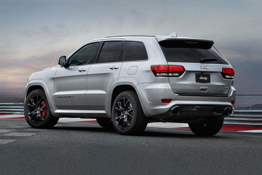 2020 Jeep Grand Cherokee SRT SUV Rear View