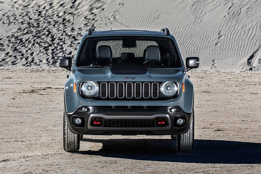 2017 Jeep Renegade SUV Front View