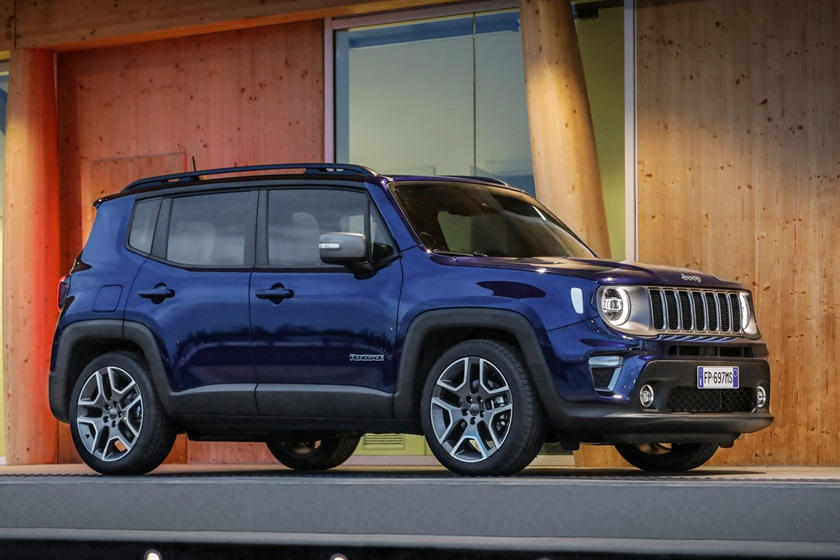 2020 Jeep Renegade SUV Side View